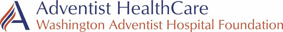 Adventist Healthcare Washington Adventist Hospital Foundation Logo